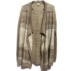 sonoma oversized knit cardigan drapping